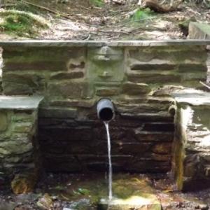 La fontaine Ste Balbine