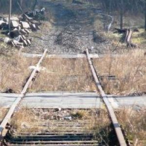 Le demontage de la voie ferree Trois-Ponts - Sourbrodt