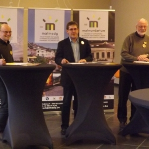 Conference de presse: presentation des festivites 2014