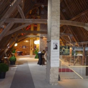 Le cadre exceptionnel des combles du Monastere de Malmedy