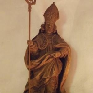 Copie de la statue d'un Eveque ( 18eme s. )
