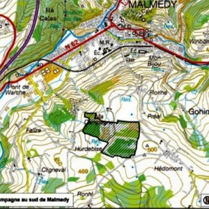 """Projet BE33052 : """"Ma Campagne"""" au sud de Malmedy (47,7 ha)"""