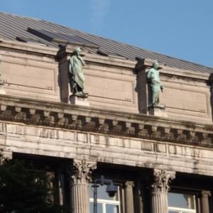 Liege : Facade de l' Universite ( Place du XX aout )