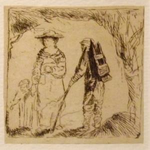 Le colporteur ( vers 1630 )