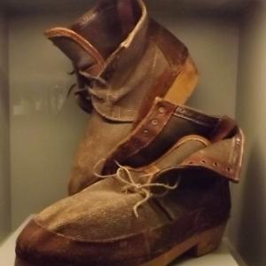 Des chaussures de recuperation