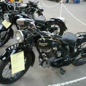 Motos exposees : la regionale Sarolea de 1937