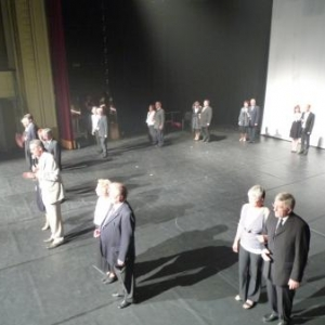 Gala de danse 2009 au Casino de Spa.   La prestation des Aines ( Photos : O. Delvigne )