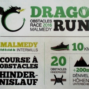 Dragonrun 2016 a Malmedy