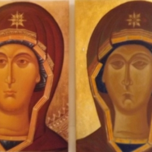 Vierge ( calque + icone en cours )