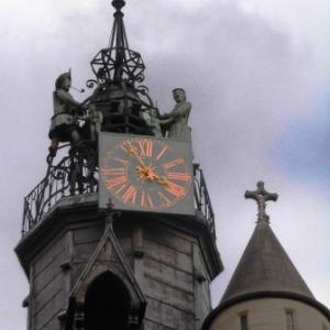 La famille Jacquemart sur Notre Dame ( Photo : F. Detry )