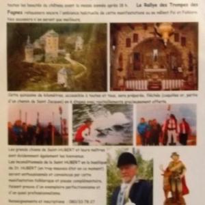 Marche de St Hubert, Patron des Chasseurs ( voir Invitation et détails  )