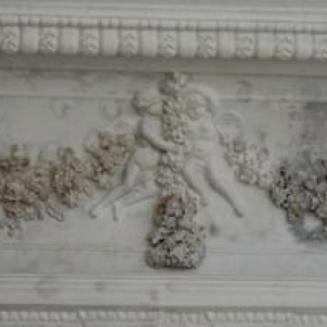Decoration du plafond de la salle de bal