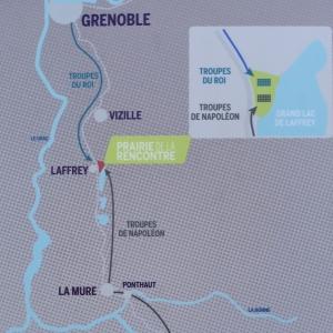 La route Napoléon au départ de Golfe Juan