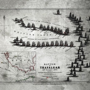 La bataille de Trafalgar ( GETTY IMAGES )