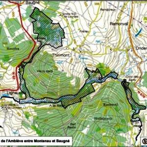 Projet BE33054: Vallée de l'Amblève entre Montenau et Baugné (229,6 ha)
