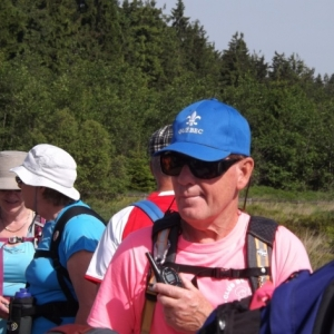 M. Fernand Rainville, le guide accompagnateur quebecois ( photo de F. Detry )