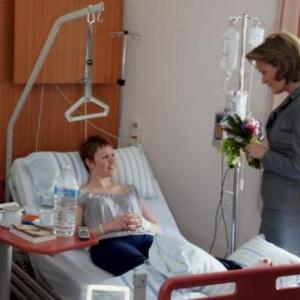 32. Entretien avec une personne hospitalisee