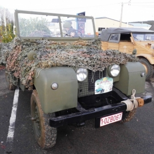 Des vehicules exposes