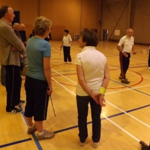 Initiation au badminton