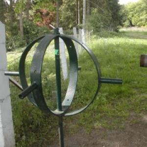 """Systeme rotatif ( ! ) a proximite de Valdieu ( Photo de """" Lalou"""" )"""