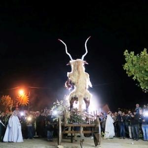 Fête de la chèvre à Bragance