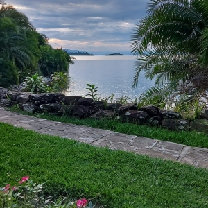 Vue sur le Lac Kivu