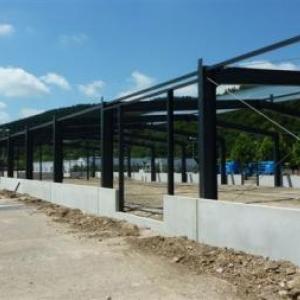 Etat des travaux en date du 03.07.2011 ( Photo J. Blavier )