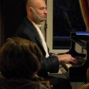 Michel Jaspar au piano
