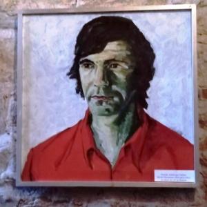 Portrait realise par M. Husmans au retour des JO de Munich