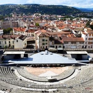8. Saint-Romain-en-Gal et Vienne  ( Rhône - Isère )  - Le Théâtre antique