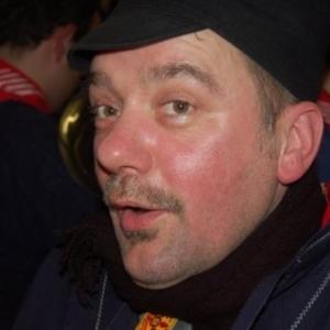 Patrick Allard en ardennais ( photo : R. Krings)