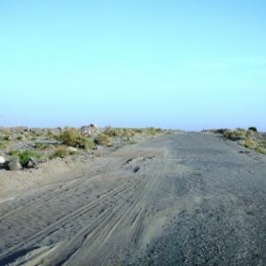 Pistes du desert