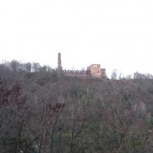 Les ruines de l'abbaye de Limburg