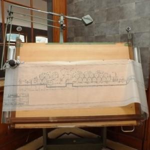 Plan de la machine a papier en continu