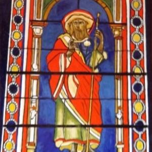 Vitrail de St Jacques