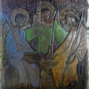 Chapelle du Monastere de l'Annonciation ( details )