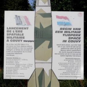 En bordure de la route Gouvy - Sterpigny
