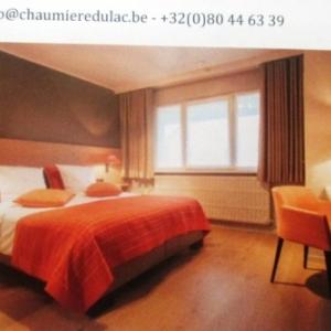 WAIMES : Hotel  La Chaumiere du Lac   a Robertville