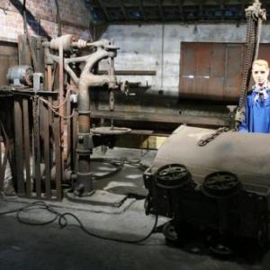 La forge pour la reparation du materiel et le ferrage des chevaux
