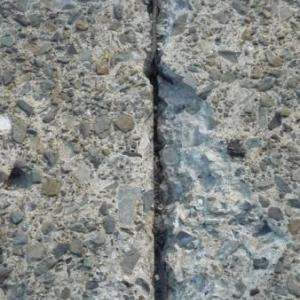E 42  Malmedy - Recht : le joint metallique est visible