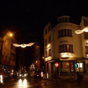 Decorations lumineuses de la ville