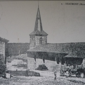 Eglise de Beaumont - en - Verdunois avant la guerre