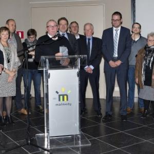 Le Conseil communal ( Photo de G. Blanchy )