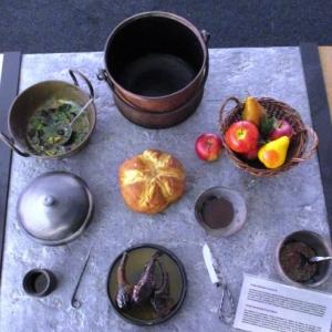 Un repas a l'epoque romaine