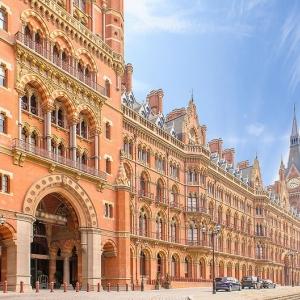 9) St Pancras International (Londres, Angleterre)