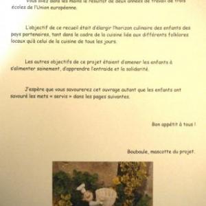 """La preface du livre signee """" Bouboule"""""""