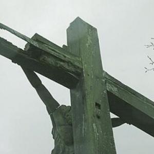 Le monument avant demontage ( photo P. Germain sur www.mediardenne.be)