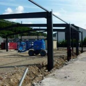 Etat des travaux en date du 17.06.2011 ( Photo J. Blavier )