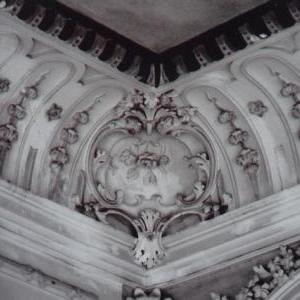 Gorge du plafond de la salle de bal