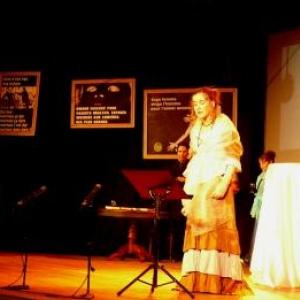 Intervention chorale d'eleves de l'Academie